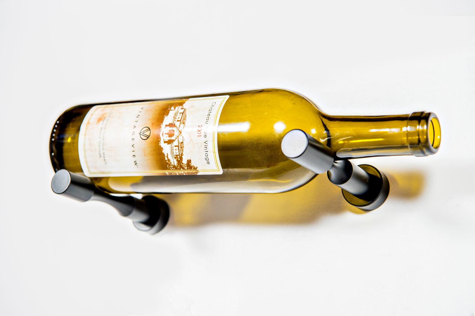 vino pins 1 bottle wall mounted metal wine rack peg