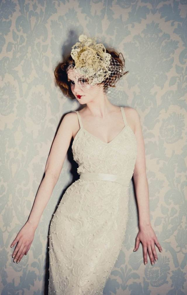 Vintage Lane Vintage Wedding Dresses at the National Vintage Wedding Fair