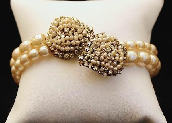 Bracelet, Miriam Haskell available at Gemma Redmond Vintage