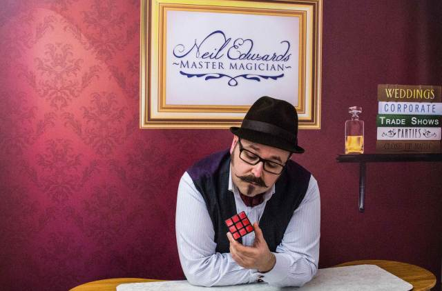 Neil Edwards Elegant Magic shares how to choose your wedding magician on the National Vintage Wedding Fair blog