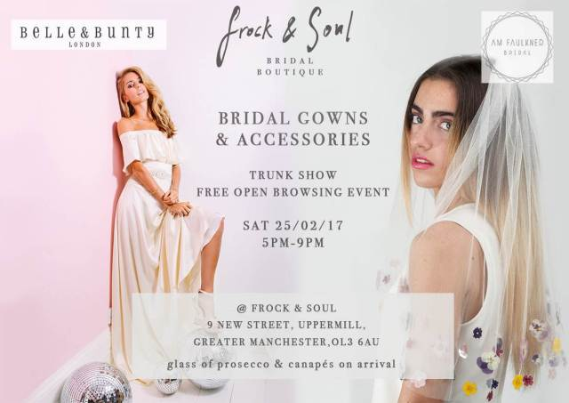 FROCK & SOUL PRESENTS A BELLE & BUNTY + AM-FAULKNER TRUNK SHOW