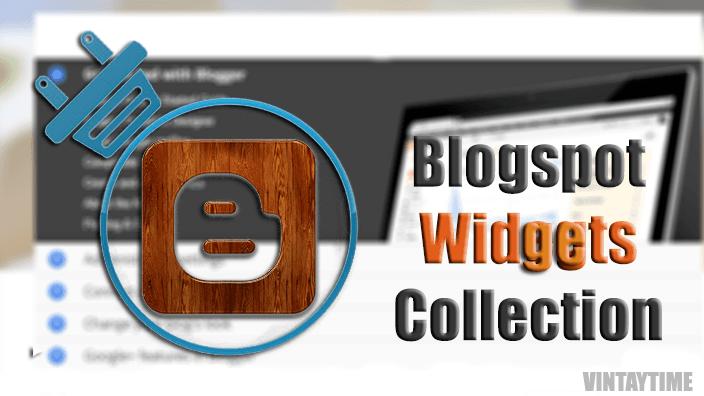 blogger widgets min