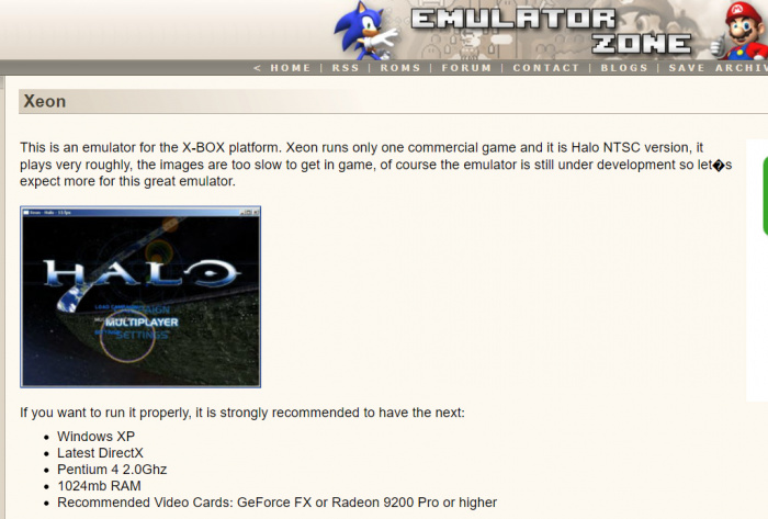 Xbox Emulator on pc