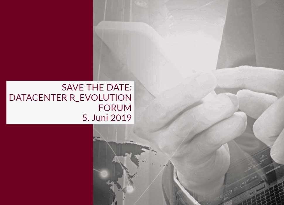 Save the date: datacenter r_evolution forum Fulda
