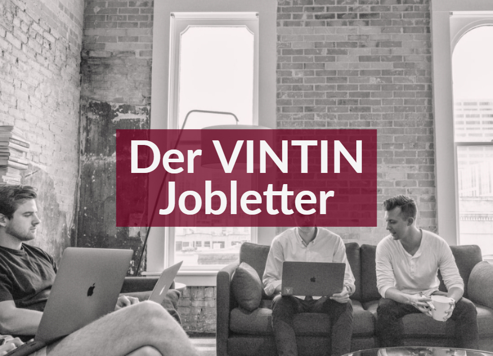 Der VINTIN Jobletter