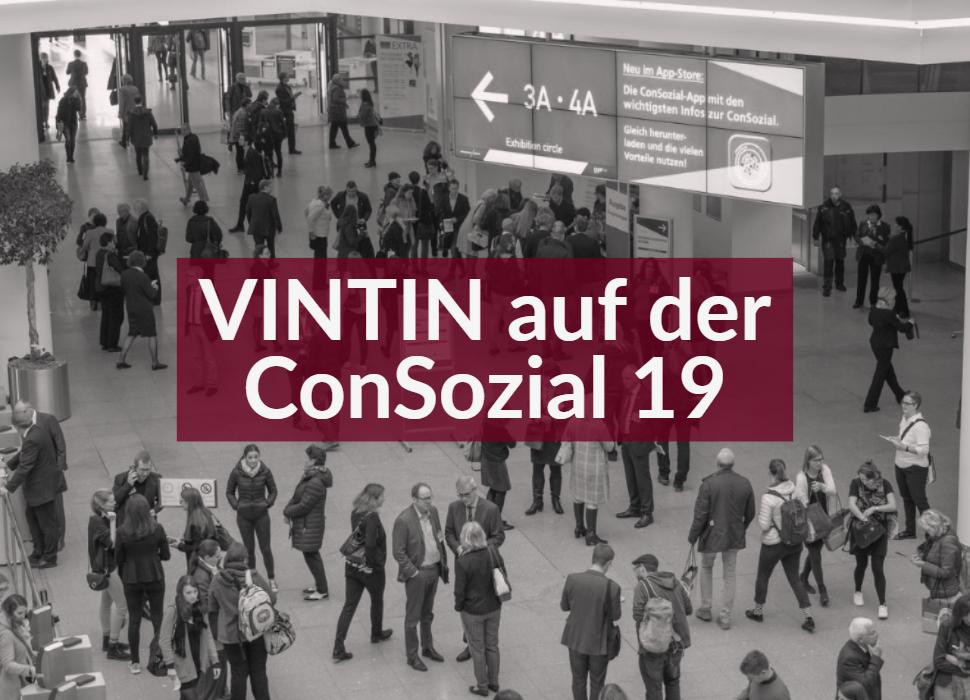 VINTIN auf der ConSozial 19