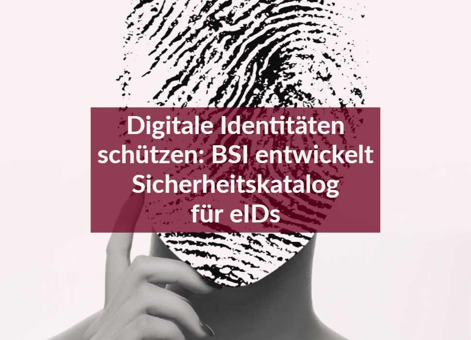 Digitale Identitäten schützen: BSI entwickelt Sicherheitskatalog für eIDs