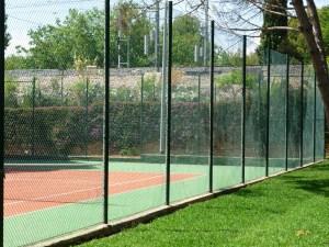Pista de tenis normalizada