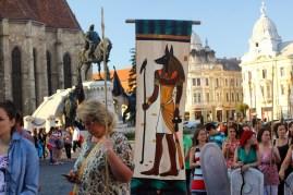 egipteni in Cluj