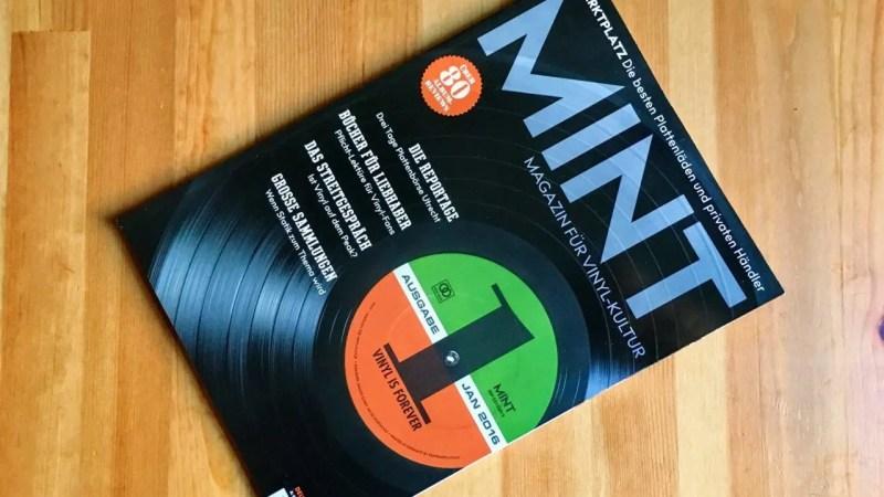 Mint Magazin für Vinyl-Kultur 01/2016