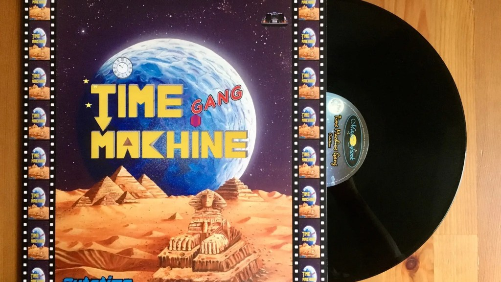 Time Machine Gang ‎- Outatime - Magic Funk Records