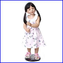 34 Standing Reborn Toddler Girl Real Child Size Baby Dolls Age 1yr+ Washable