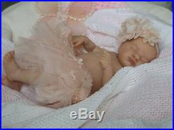 Beautiful Reborn doll baby girl Evie laura lee eagles limited edition