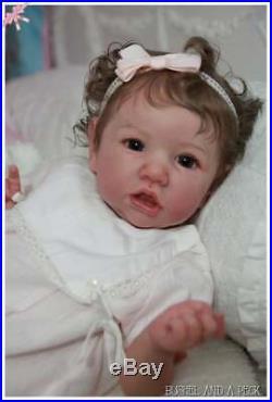 Custom Order for Reborn Baby Saskia Doll