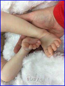 Reborn Baby Boy Art Doll Made From Ember Sculpt Heavy Authentic Reborn Uk