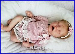 Reborn Baby Doll, Girl Twin A by Bonnie Brown Custom made to order READ