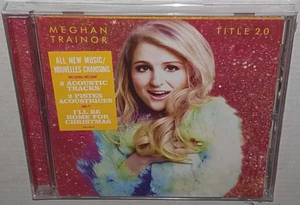 SEALED CD Meghan Trainor Title 20 2015 Epic Records