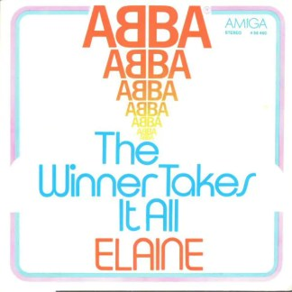 "ABBA - The Winner Takes It All / Elaine (7"", Single)"