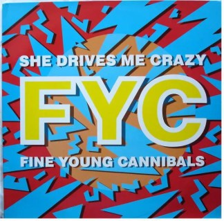 "Fine Young Cannibals - She Drives Me Crazy (12"", Maxi, Red)"
