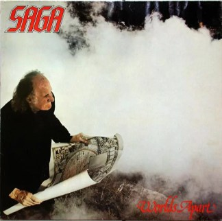 Saga (3) - Worlds Apart (LP, Album)