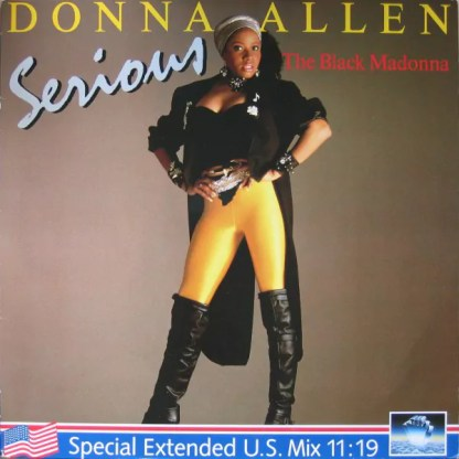 "Donna Allen - Serious (Special Extended U.S. Mix) (12"")"