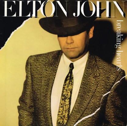 Elton John - Breaking Hearts (LP, Album)