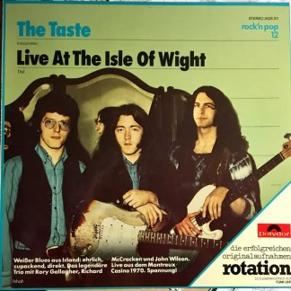 Taste (2) - Live At The Isle Of Wight (LP, Album, RE)