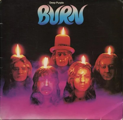 Deep Purple - Burn (LP, Album, Club)