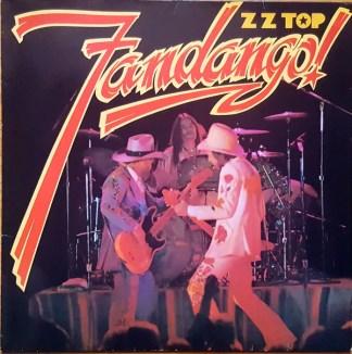 ZZ Top - Fandango! (LP, Album, RP)
