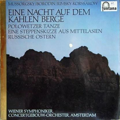 Various - Eine Nacht Auf Dem Kahlen Berge (LP, Comp)