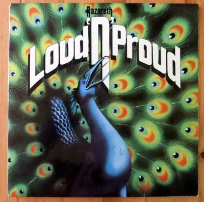 Nazareth (2) - Loud'N'Proud (LP, Album, Clu)