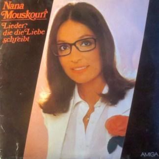 Nana Mouskouri - Lieder, Die Die Liebe Schreibt (LP, Album)