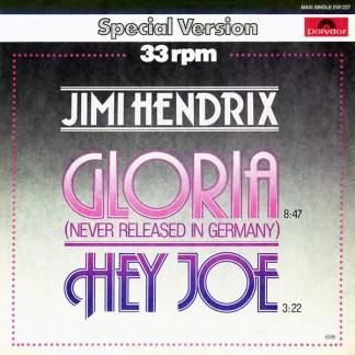 "Jimi Hendrix - Gloria / Hey Joe (12"", Maxi)"