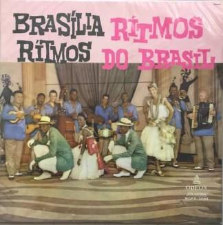 Brasília Ritmos - Rítmos Do Brasil (LP, Album, Mono)