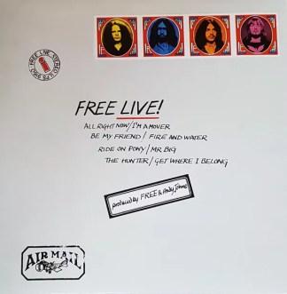 Free - Free Live! (LP, Album, RE, Env)