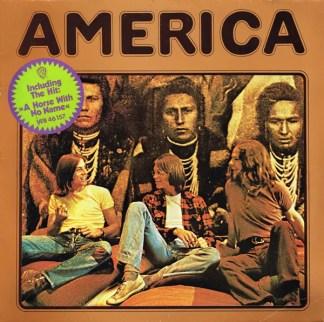 America (2) - America (LP, Album, RP)