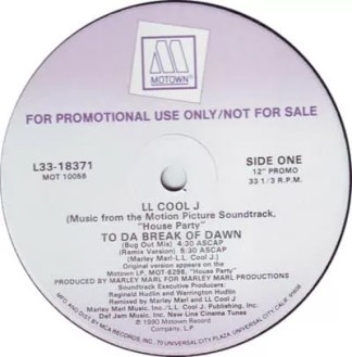 "LL Cool J - To Da Break Of Dawn (12"", Promo)"