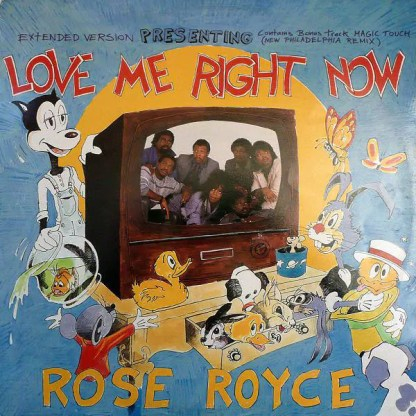 """Rose Royce - Love Me Right Now (12"""")"""