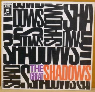 The Shadows - The Great Shadows (LP, Comp)