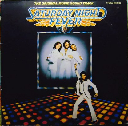 Various - Saturday Night Fever (The Original Movie Sound Track) (2xLP, Album, Comp, Gat)