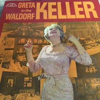 Greta Keller - In The Waldorf (LP, Album)