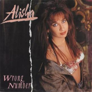 "Alisha - Wrong Number (12"", Single)"