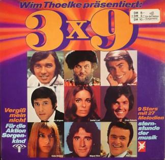 Various - Wim Thoelke Präsentiert: 3x9 - 9 Stars Mit 27 Melodien (LP, Comp)