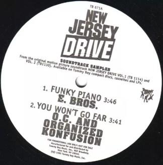 "Various - New Jersey Drive Soundtrack Sampler (12"", Promo, Smplr)"