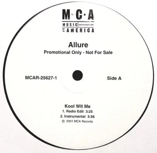 """Allure (3) - Kool Wit Me (12"""", Promo)"""