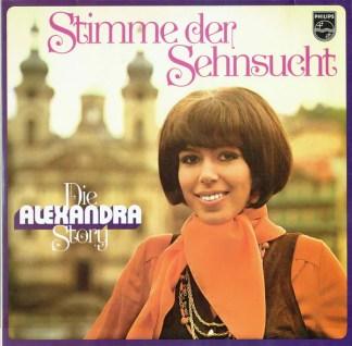 Alexandra (7) - Stimme Der Sehnsucht - Die Alexandra Story (2xLP, Comp)