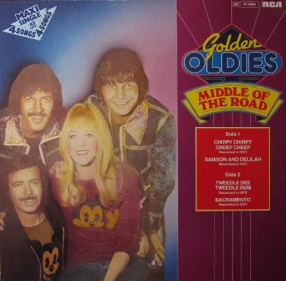 """Middle Of The Road - Golden Oldies (12"""", Maxi)"""
