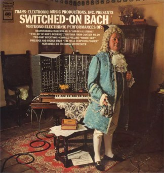 Walter Carlos - Switched-On Bach (LP, Album, RP)