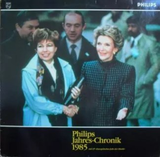 Various - Philips Jahres-Chronik 1985 (2xLP, Comp, Promo)