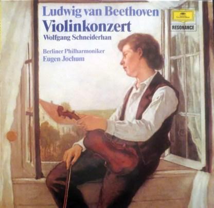 Ludwig Van Beethoven - Wolfgang Schneiderhan, Berliner Philharmoniker, Eugen Jochum - Violinkonzert (LP, RE)